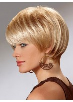 Synthetic Cut Short Straight Wig