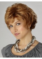 All-over Layered Cut Synthetic Short Wig