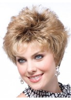 Synthetic Carefree Capless Short Wig