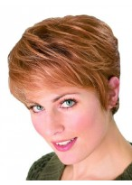 Synthetic Short Sporty Style Wig