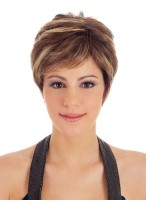 Boy Cut Synthetic Short Wig