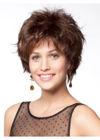 Spiky Synthetic Short Wig