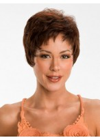 Synthetic pixie cut Short Wig