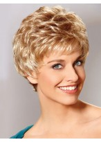 Petite Synthetic Lace Short Wig