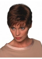 Unisex Ultra Short Synthetic Wig