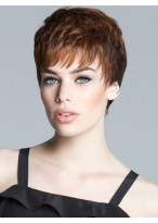 Textured Lace Short Synthetic Wig