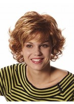 Curly Synthetic Ladies Short Wig