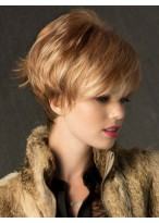Glamours Short Soft Layers Synthetic Wig