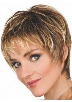 Fashion Synthetic Short Spiky Wig