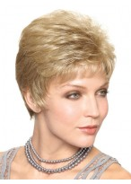 Short Cropped Look Synthetic Wig