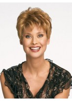 Chic Short Synthetic Pixie Wig