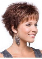 Elegance Short Layers Synthetic Wig
