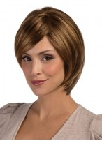 Lace Front Remy Human Hair Short Wig
