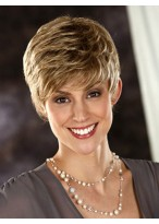 Fluffy Style Short Synthetic Wig