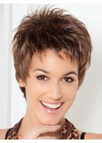 Pixie Cut Spiky Style Synthetic Wig