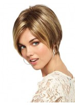 Pixie Cut Cropped Hairstyles Synthetic Wig