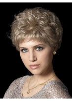 Golden Blonde Synthetic Close Cropped Wig