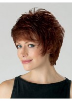 Chic Layered Spiky Synthetic Short Wig