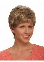 Feather-light Cropped Wig with Soft Layers