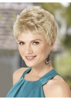 Stunning Short Cut Synthetic Wig with Soft Fringe