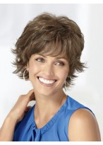 Soft Flattering Featherlight Short Synthetic Wig
