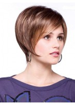 Trendy Boy Cut Synthetic Lace Front Wig
