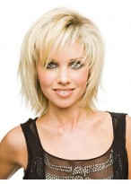 Cheap Top Quality Short Layered Straight Wig