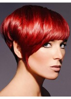 Hot Fascinating Carefree Soft Short Layered Straight Wig