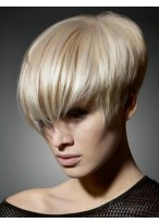 The Medium Short Straight Synthetic Hair Wigs