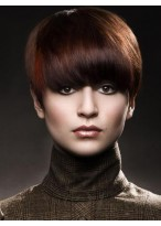 New Trend Super Soft Short Straight 100% Human Hair