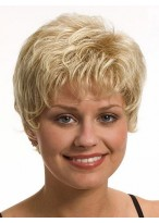 Beautiful Short Wavy Synthetic Wig
