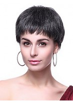 Capless High Quality Synthetic Short Wig