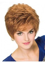 New Fashion Full Lace Short Synthetic Wig
