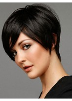 Fabulous Capless Short Straight Human Hair Wig