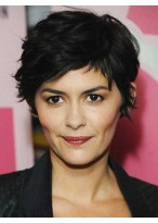 Short Synthetic Wig With Fashion Cropped Style