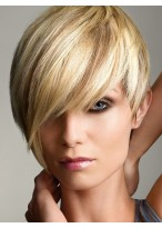 Blond Female Straight Fashion Wig
