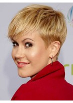 Great Short Straight Capless Synthetic Hair Synthetic Wigs