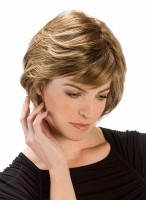 Smooth Layering Capless Synthetic Hair Wig