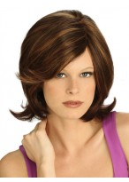 Lace Front Synthetic Medium Wig