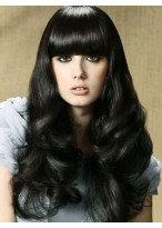Dream Long Capless Female Curly Synthetic Hair Wig 24 Inch