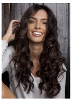 Full Lace Long Wavy Wig WIth High-quality Synthetic Fiber Wigs