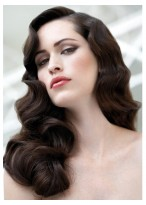Fashion 22 Inches Capless Wavy Long  Synthetic Hair Wigs