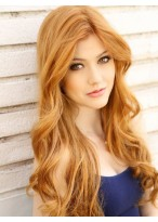 High Heated Long Wavy Synthetic Capless Wigs