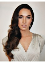 Long Layered Loose Wave Synthetic Lace Front Wig