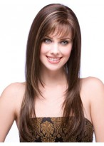 Stevie Lace Front Silky Straight Long Wig