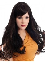 Extra Long Straight Synthetic Lace Front Wig