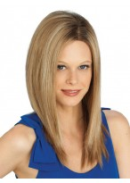 Sleek Straight Synthetic Long Lace Front Wig
