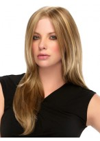 Lace Synthetic Layered straight Long Wig