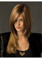 Newest Long Layering Straight Lace Wig