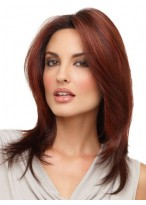 Long Layered Style Synthetic Lace Wig